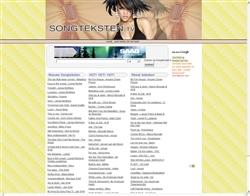 Songteksten